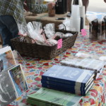 Locally written books for sale offered by Baine's Books and Coffee