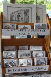 Sketches of local places, by a local artist